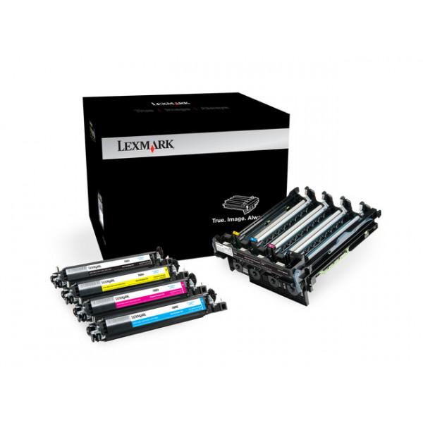 Lexmark 70C0Z50 Imaging Kit, Black, Cyan, Magenta, Yellow, 40000 pages