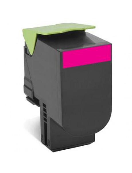 Lexmark 80C2HM0 Cartridge, Magenta, 3000 pages