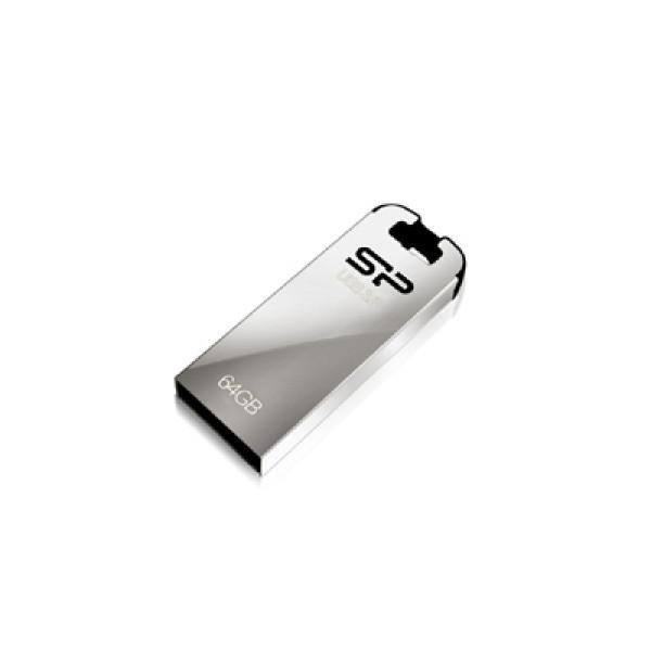 Silicon Power Jewel J10 64 GB, USB 3.0, Silver