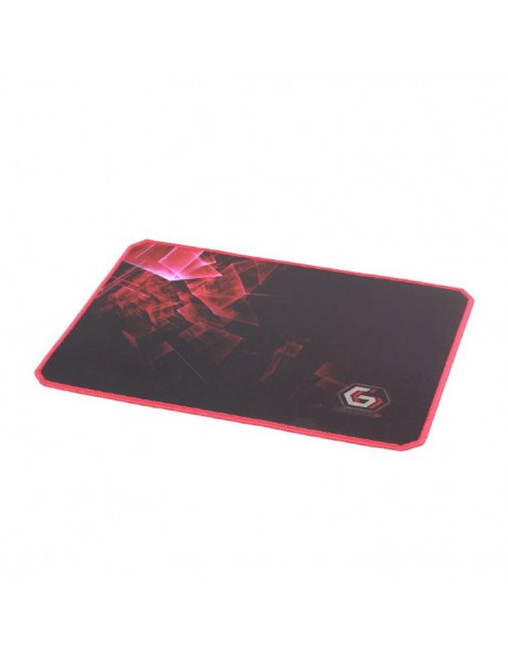 Gembird Gaming mouse pad PRO, extra large, Black/Red, Extra wide pad surface size 350 x 900 mm