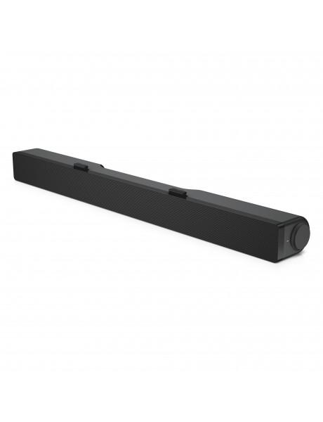 Dell Stereo Soundbar  AC511M Speaker type Sound bar - stereo - 2 - active, Mini-phone stereo 3.5 mm; USB 2.0, Black, 2.5 W