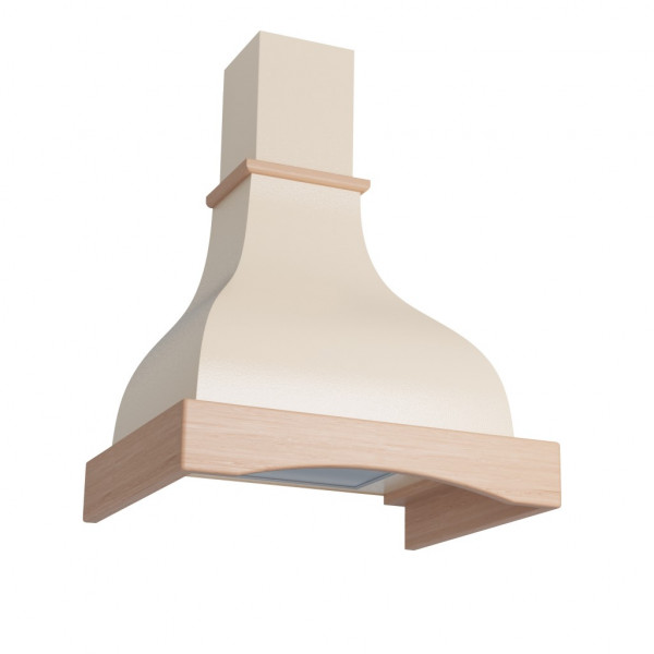 Eleyus Hood  Solo Country 750 Energy efficiency class D, Wall mounted, Width 60 cm, 371 m³/h, Beige, LED