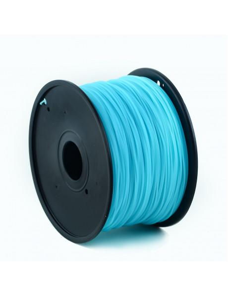 Flashforge ABS plastic filament for 3D printers 1.75 mm diameter, 1kg/spool, Luminous Blue