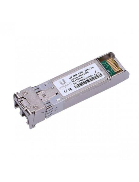 Ubiquiti UF-MM-10G SFP+, Multi-Mode Fiber, Dual LC, 10/100/1000/10000 Mbit/s, Wavelength 850 nm, Maximum transfer distance 300 m, (2-Pack), 0 to +70C