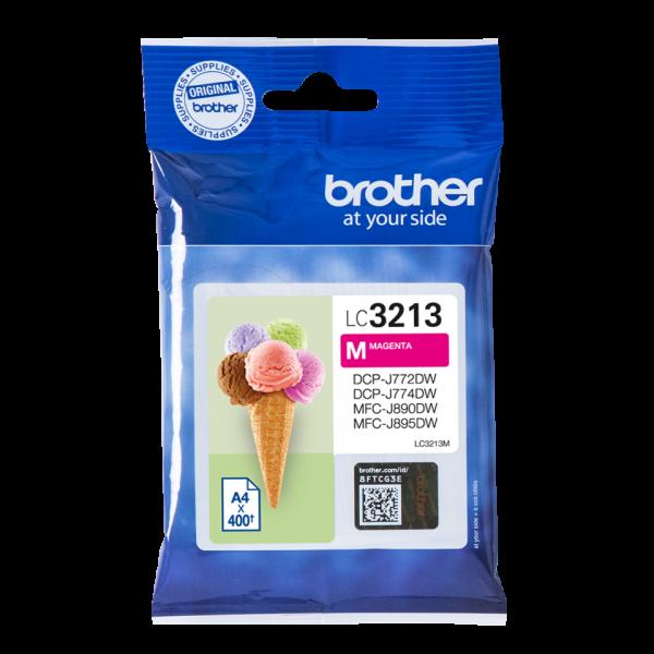 Brother LC3213M Ink Cartridge, Magenta