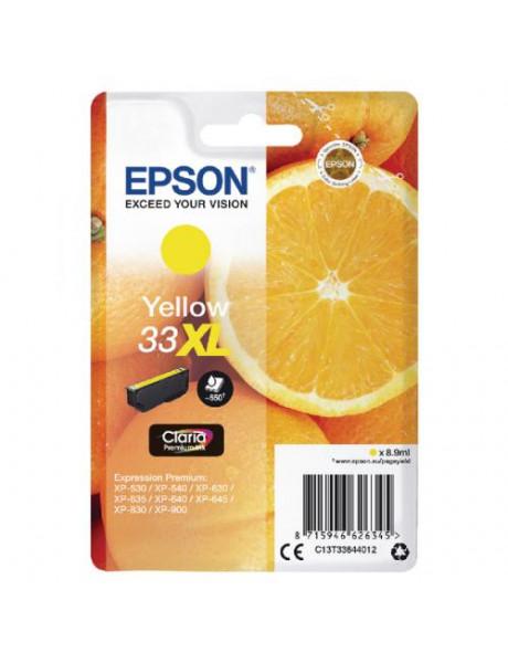 Epson T3364, 33XL  Ink Cartridge, Yellow