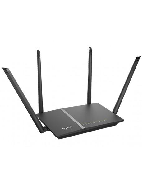 D-Link Router DIR-815/RU 802.11ac, 300+867 Mbit/s, 10/100 Mbit/s, Ethernet LAN (RJ-45) ports 4, Antenna type 4xExternal, USB ports quantity 1xUSB 2.0