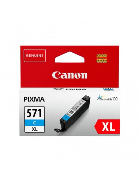 Print4you Analog  Canon CLI-571CXL  Ink Cartridge, Cyan