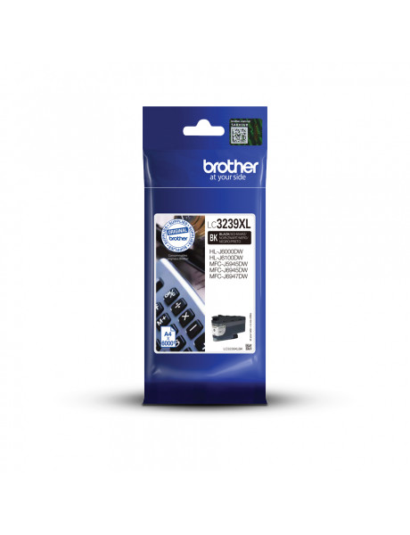 Brother High-yield Ink Cartridge LC3239XLBK Ink, Black