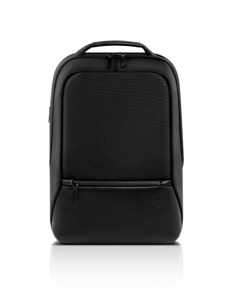 Dell Premier Slim 460-BCQM Fits up to size 15 , Black with metal logo, Backpack