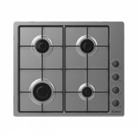 Candy Hob CHW6LBX  Gas, Number of burners/cooking zones 4, Inox,
