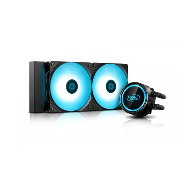 Deepcool Liquid cpu cooler GAMMAXX L240T BLUE