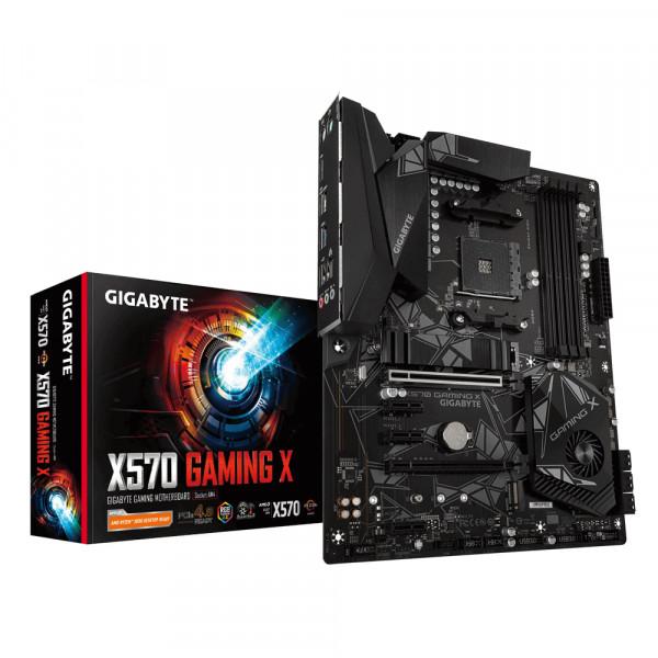 Gigabyte X570 GAMING X Processor family AMD, Processor socket AM4, DDR4, Memory slots 4, Number of SATA connectors 6 x SATA 6Gb/s connectors, Chipset AMD X570, ATX