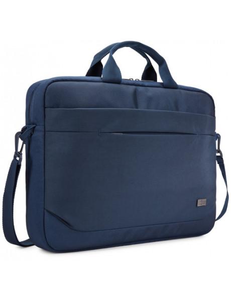 Case Logic Advantage Fits up to size 15.6 , Dark Blue, Shoulder strap, Messenger - Briefcase
