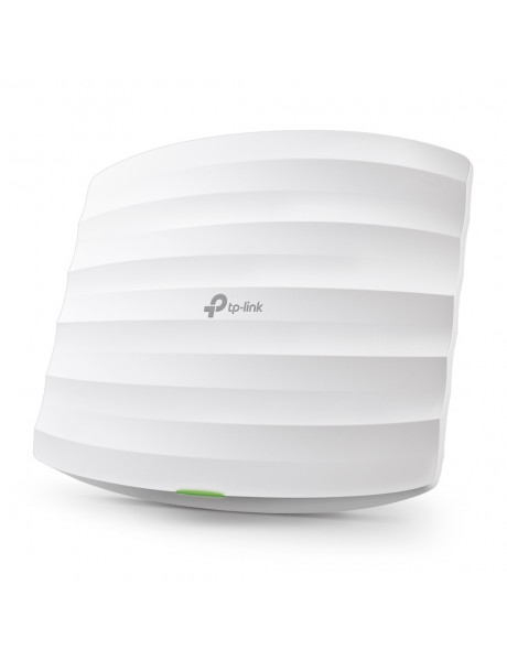 TP-LINK Access Point EAP225 802.11ac, 2.4GHz/5GHz, 450+867 Mbit/s, 10/100/1000 Mbit/s, Ethernet LAN (RJ-45) ports 1, MU-MiMO Yes, PoE in, Antenna type 5xInternal