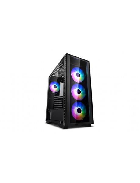 Deepcool MATREXX 50 ADD RGB 4F Side window, E-ATX, Power supply included No