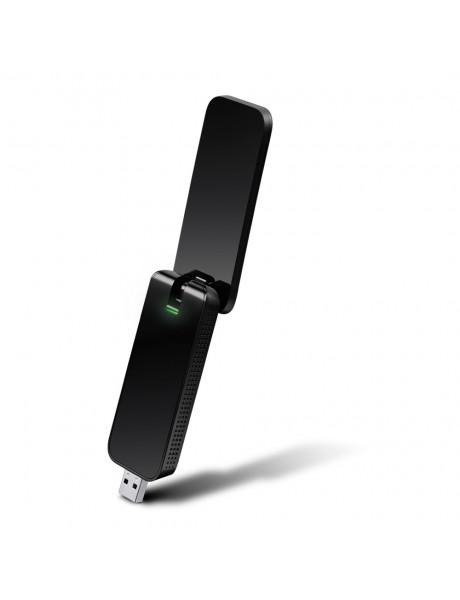 TP-LINK USB 3.0 Adapter Archer T4U  2.4GHz/5GHz, 802.11ac, AC1300, External antenna