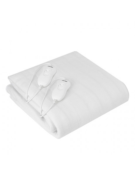 Mesko Electirc heating under-blanket MS 7420 Number of heating levels 4, Number of persons 2, Washable, Remote control, Polyester, 2x60 W, White