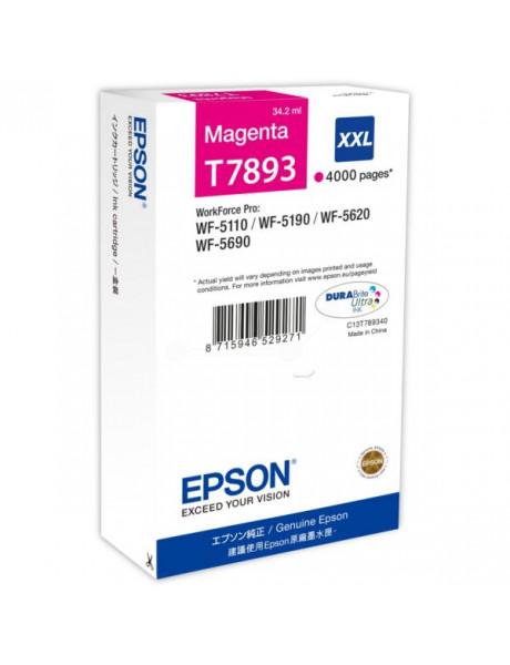 Epson T7893 XXL Ink Cartridge, Magenta