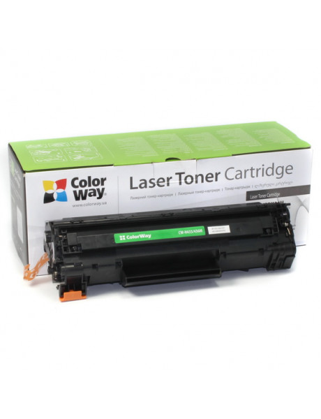 ColorWay Econom Toner Cartridge, Black, HP CB435A/CB436A/CE285A; Canon 712/713/725