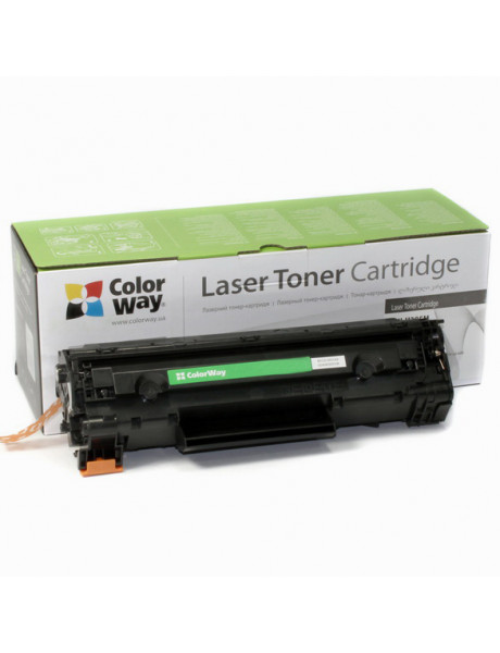 ColorWay Econom Toner Cartridge, Black, HP CE278A (78A); Canon 728/726