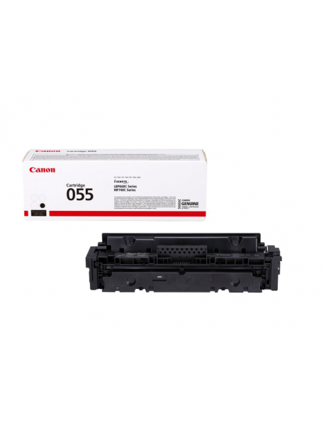 Canon 055 Toner cartridge, Black