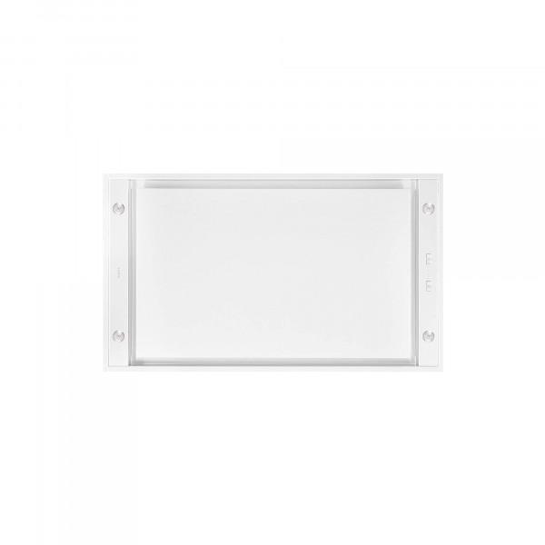 Novy Hood Pure'line Compact 6811 Energy efficiency class B, Ceiling, Width 90 cm, 650 m³/h, Push buttons, White, LED