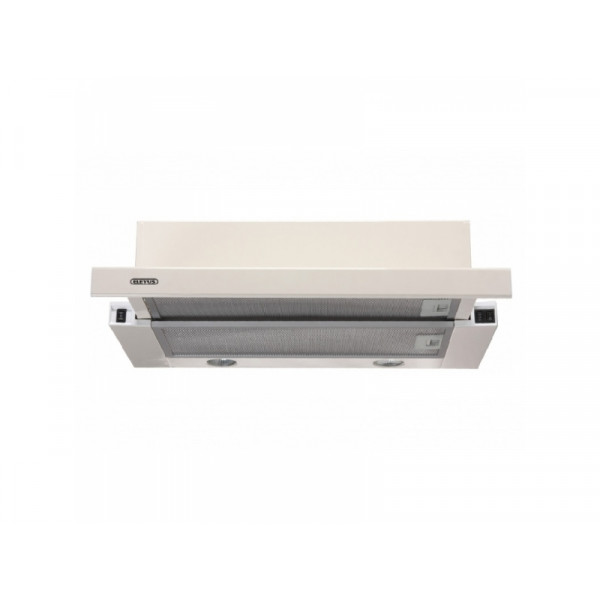 Eleyus Hood TLS L 14 150 60 BG Energy efficiency class D, Telescopic, Width 60 cm, 355 m³/h, Mechanical, Beige