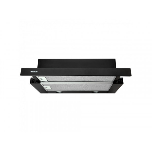 Eleyus Hood TLS L 14 200 60 BL+BL Energy efficiency class D, Telescopic, Width 60 cm, 566 m³/h, Mechanical, Black+Black glass