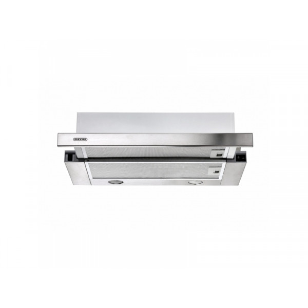 Eleyus Hood TLS L 14 200 60 IS Energy efficiency class D, Telescopic, Width 60 cm, 566 m³/h, Mechanical, Inox