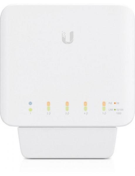 Ubiquiti USW-Flex Indoor/outdoor 5Port Poe Gigabit Switch with 802.3bt Input Power Support