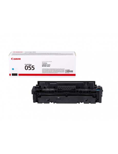 Canon 055 Toner cartridge, Cyan