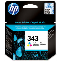 HP no.343 Ink Cart. 3-color (7ml, 260 pages)
