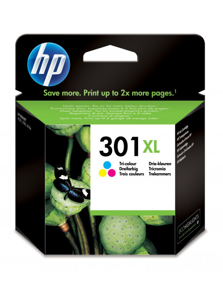 HP no.301XL Tri-color Ink Cartridge (330pages)