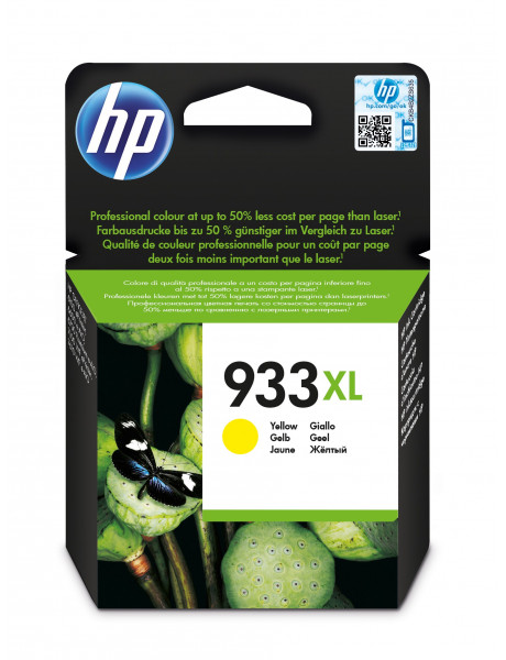 HP no.933XL Ink. Cart. for Officejet 6700/7110 Yellow (825 pages)