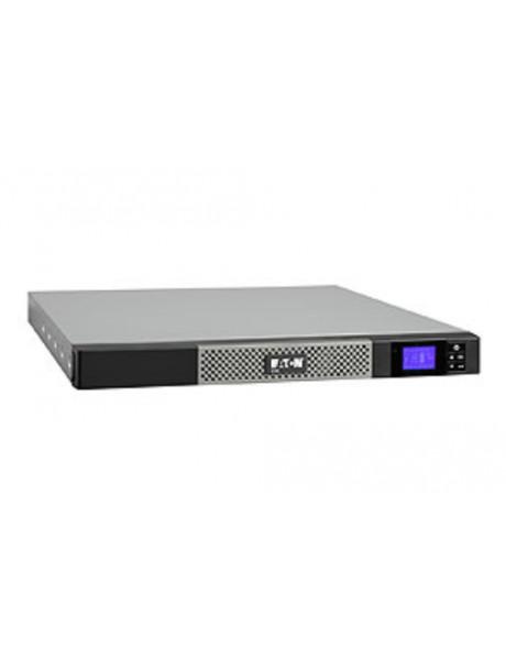 Eaton 5P 1550VA/1100W line-interactive UPS, 4 min@full load, rackmount 1U