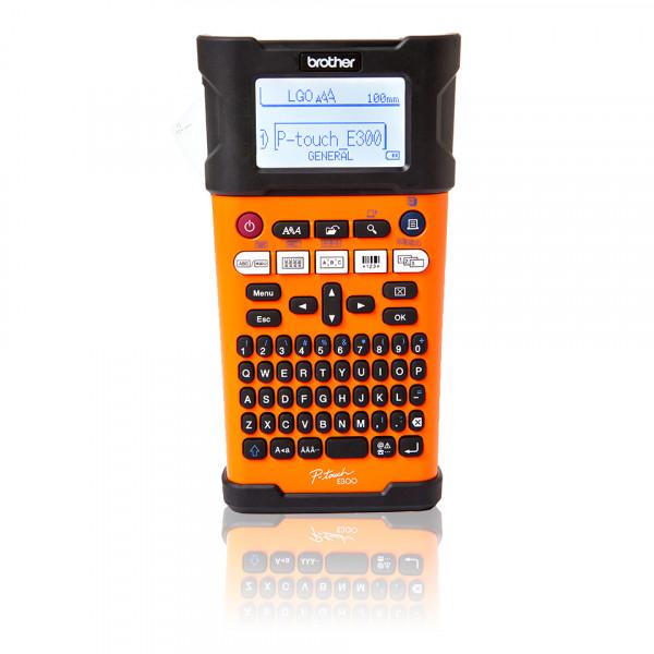 Brother PT-E300VP Mono, Thermal, Label Printer, Other, Black, Orange