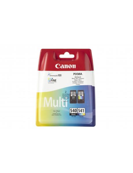 Canon PG-540/CL-541 Multipack Ink Cartridge, Black, Cyan, Magenta, Yellow