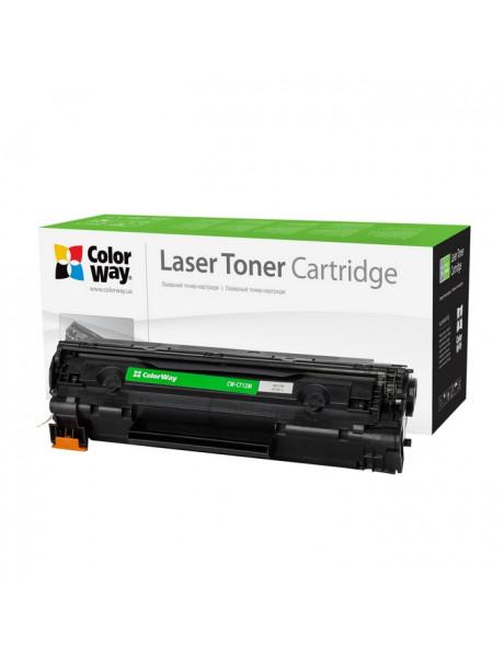 ColorWay Econom Toner Cartridge, Black, HP CB435A/CB436A; Canon 712/713