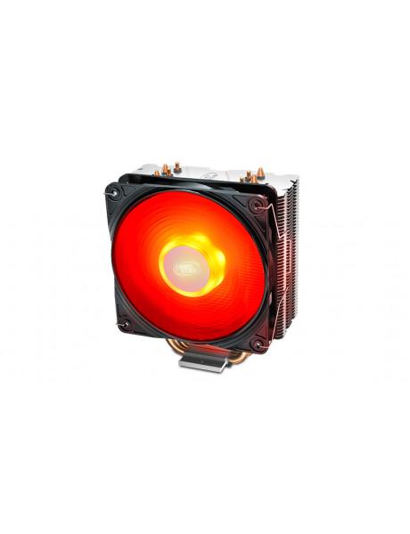 Deepcool CPU Air Cooler Gammaxx 400 Red V2