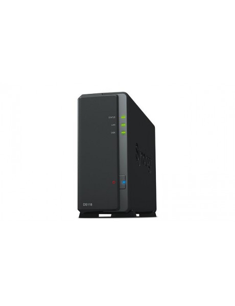 NAS STORAGE TOWER 1BAY/NO HDD DS118 SYNOLOGY