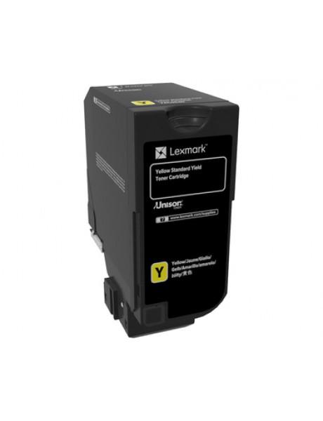 Lexmark Standard Yield Toner Cartridge Cartridge, Yellow