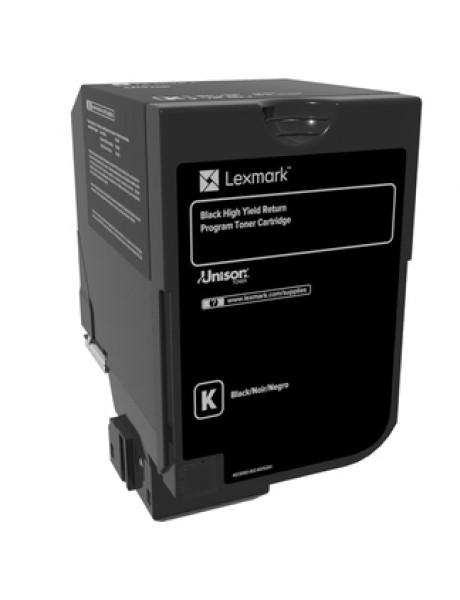 Lexmark 20K Black Return Program Toner Cartridge (CS720, CS725) Lexmark