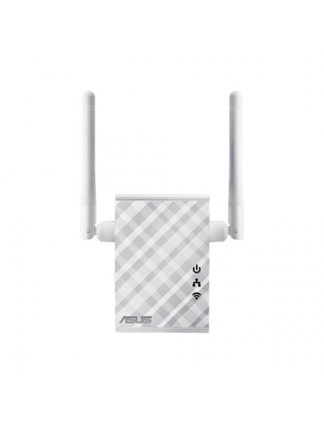 Asus Repeater/Extender/Access Point/Bridge RP-N12 802.11n, 2.4GHz GHz, 300 Mbit/s, 10/100 Mbit/s, Ethernet LAN (RJ-45) ports 1, 2xExternal 2dBi