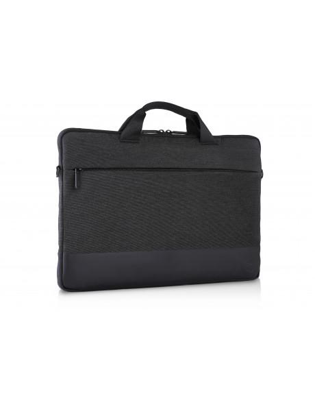 Dell Professional 460-BCFM Fits up to size 14 , Grey/Blue, Shoulder strap, Sleeve
