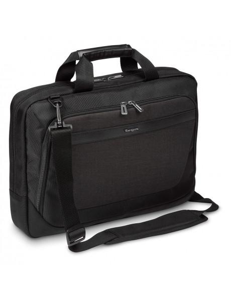 Targus CitySmart TBT914EU Fits up to size 15.6 , Black/Grey, Shoulder strap, Messenger - Briefcase