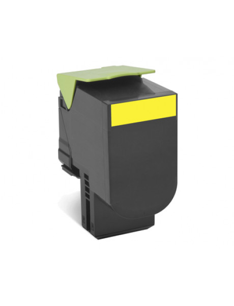 Lexmark Return Program 70C2HY0  Toner Cartridge, Yellow