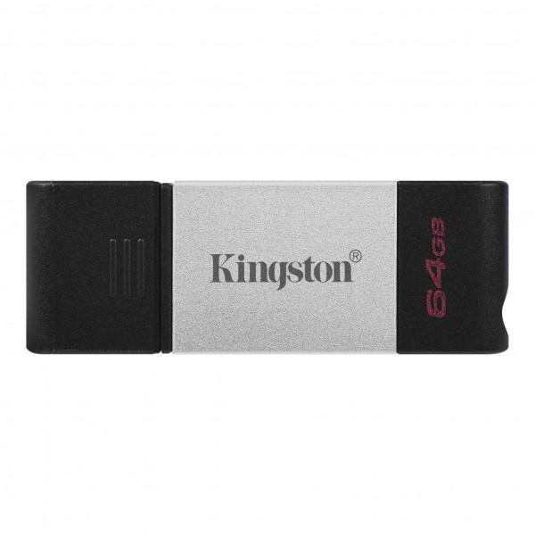 MEMORY DRIVE FLASH USB3.2 64GB/DT80/64GB KINGSTON