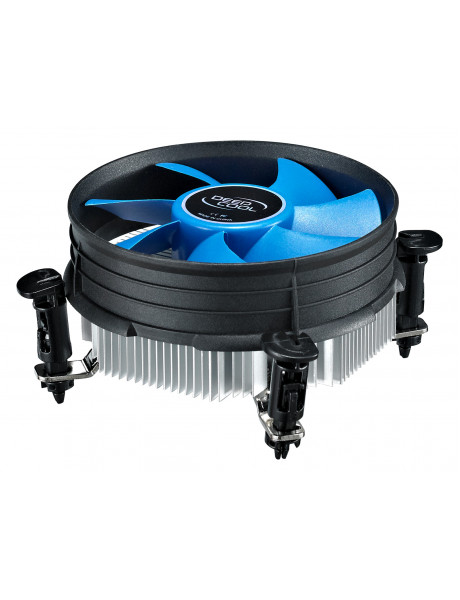 Deepcool Cpu cooler Theta9PWM ,  Intel, socket 1155/56, 92mm fan, hydro bearing,95W (TDP)     * Ideal thermal solution for Intel 1155/56.     * Radial heatsink with 92mm fan to dissipate heat very efficiently.     * Easy installation with push pins.   dee