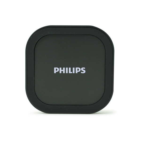 Philips Wireless charger DLP9011/10 Qi wireless technology, slim and light design, LED charging indicator